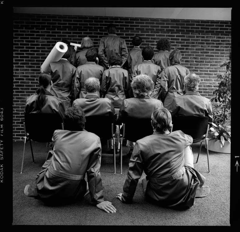 • maart 1982, foto's voor het afscheidsboek van Jelle van der Toorn Vrijthof