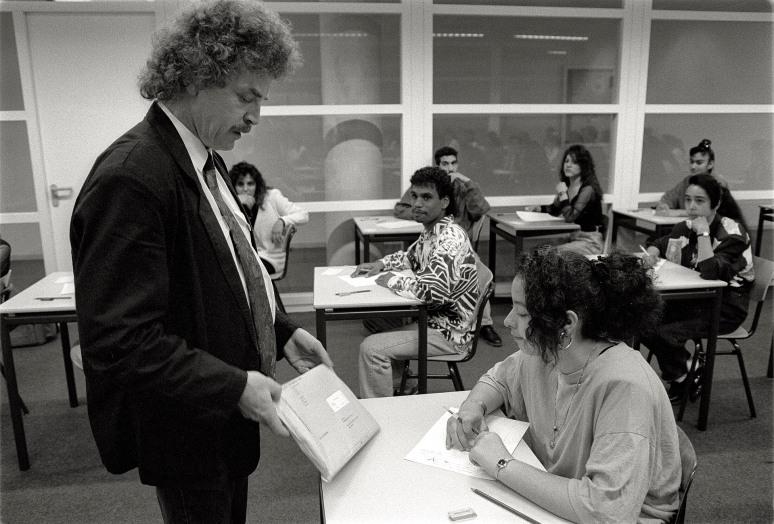 • Johan de Witt College Den Haag, 18 mei 1992
