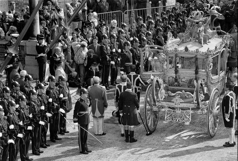 • Dinsdag 16 september 1993/ Met Koningin Beatrix en Prins Claus