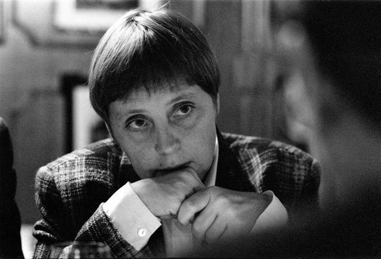 • Angela Merkel. Bonn 9 november 1993