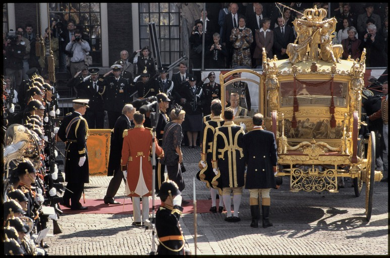 • Dinsdag 16 september 1997 met Koningin Beatrix, Prins Claus en prins Willem-Alexander