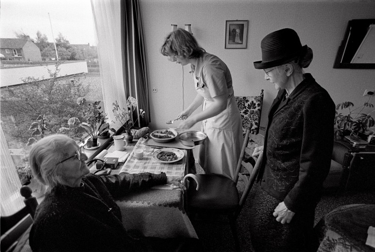 • Bejaardentehuis Groenewoude in Wouidenberg 1979.